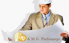 A.M.G. Plafonnage - Plafonnage - Cloisons - Faux plafonds